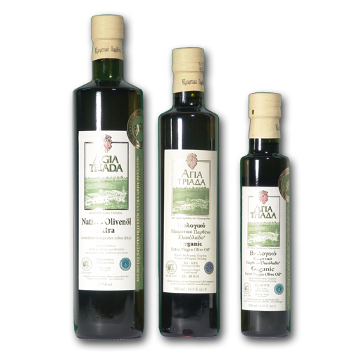 Natives Olivenöl extra *** 750 ml - Agia Triada